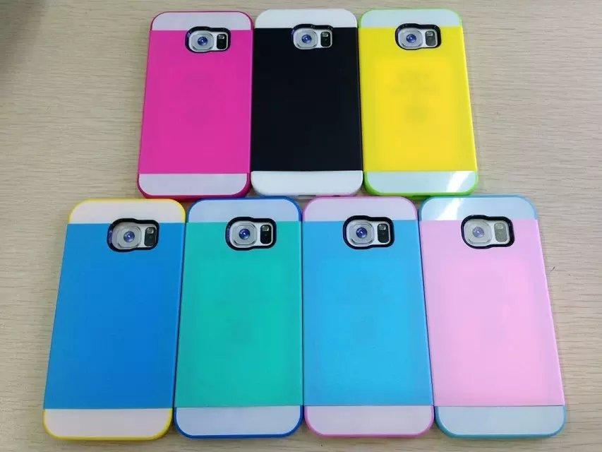 ☆三星Galaxy S6保護套 NX CASE諾訊拼色三合一手機殼 Samsung G9200手機套 時尚雙色保護殼【清倉】