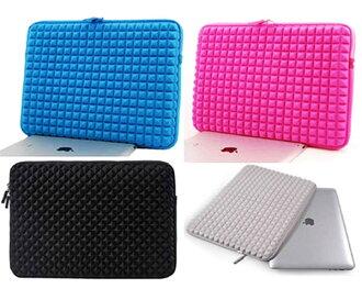 Macbook air/pro蘋果筆電內膽包 13吋筆電通用包保護套 吉瑪仕鑽石紋GM170313內膽包 防水抗震包
