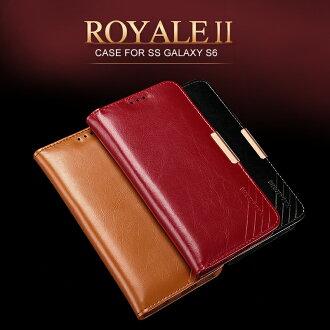 三星Galaxy S6保護套 卡來登舍得二系列真皮保護套 G9200手機套 保護殼【預購】