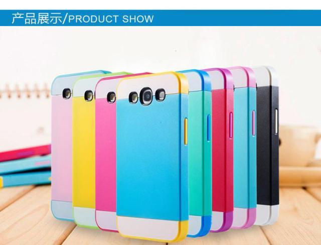 ☆三星Galaxy A3 A3000 NX CASE 諾訊拼色三合一手機殼 Samsung A3000手機套 時尚雙色保護殼【清倉】