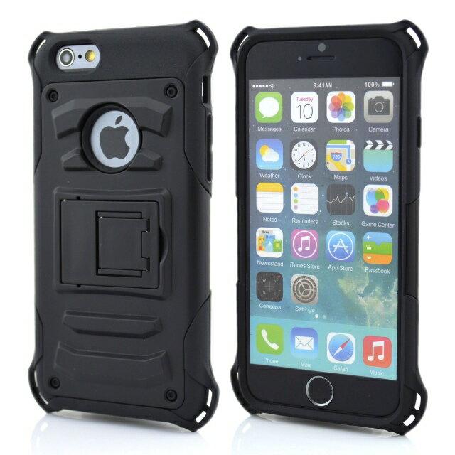 蘋果iPhone 6 puls 金剛鎧甲二合一系列手機殼 防摔保護殼 Apple iPhone6 puls 5.5吋 防摔硬殼 支架保護邊框