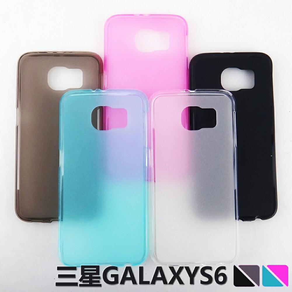 ☆三星Galaxy S6 G9200 彩色布丁套 超薄後殼 軟背殼 清水套 G9200手機保護套【清倉】