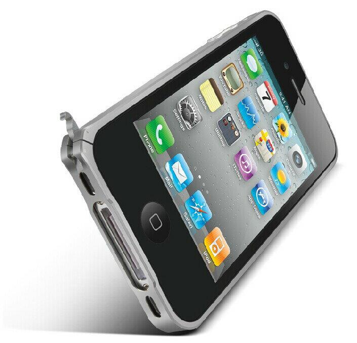 ☆蘋果iphone4/4s 金屬邊框 LOVE MEI 金屬免螺絲海馬扣邊框 iphone4S/4手機殼 【清倉】