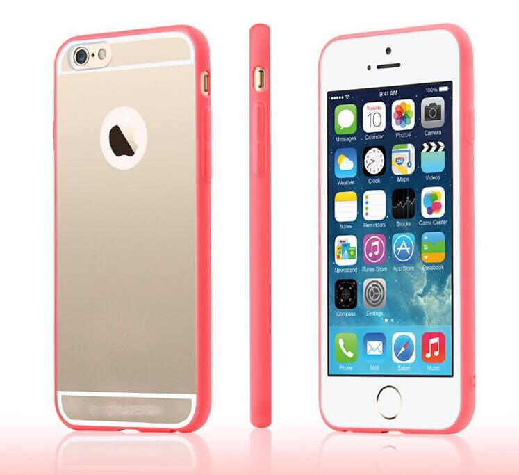 蘋果iPhone6 4.7吋 保護殼 TOTU晶柔系列矽膠保護套 APPLE iPhone 6透明殼【預購】