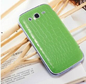 三星i9082 Galaxy Grand Duos保護套 雪奈兒鏡面鱷魚紋皮套i9082 真皮手機套 全屏視窗保護殼【預購】