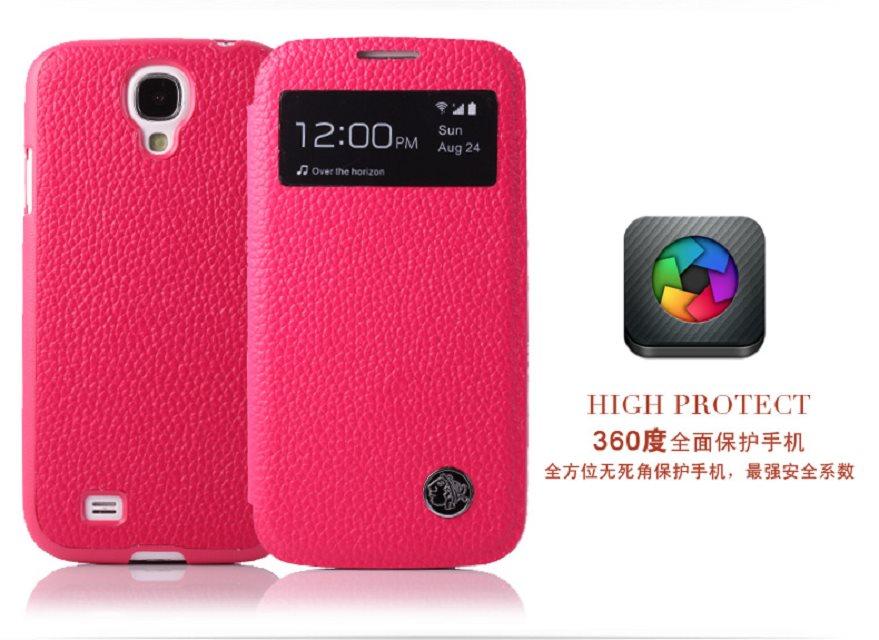 三星 i9500 Galaxy S4 保護套 XUENAIR 雪奈兒牛皮視窗系列手機套 真