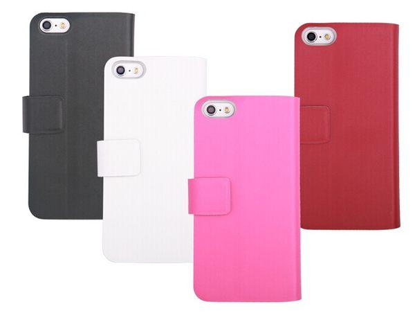蘋果iPhone5C 保護套 真皮世家真皮左右開皮套 APPLE 5c 支架插卡保護套【預購】
