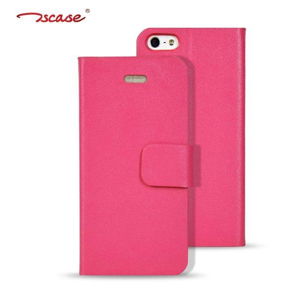 蘋果iPhone5/5s 保護套 Tscase歐普瑞斯納帕紋左右開系列真皮皮套 APPLE 5G 5S 支架保護殼【預購】