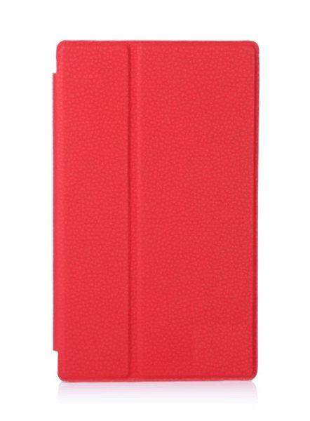 ☆索尼Xperia Z3 tablet compact 文逸多角度支撐 超柔軟磨砂荔枝紋平板皮套 SGP621休眠 皮套【清倉】