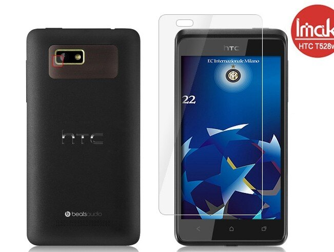 HTC Desire L T528w/e 手機貼艾美克imak高透明螢幕貼(附攝像頭貼)宏達電One SU T528w/e手機保護貼保護膜
