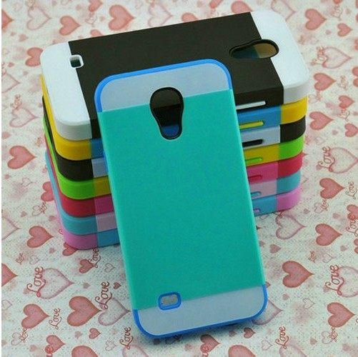 ☆三星i9190 Galaxy S4 mini保護套 NX CASE諾訊拼色三合一手機殼i9190手機套 【清倉】
