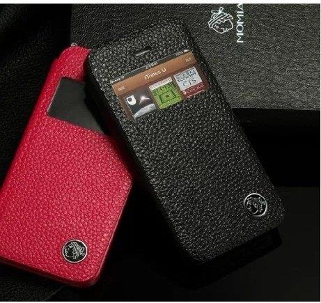 蘋果 iphone5保護套 XUENAIR 雪奈兒牛皮視窗系列手機套  iphone5s  真皮皮套【預購】