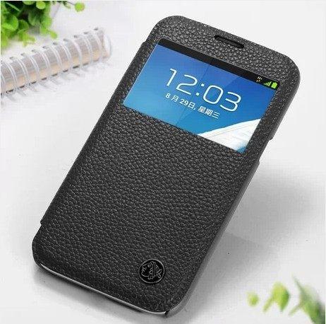 三星 N7100 Galaxy Note 2 保護套 XUENAIR 雪奈兒牛皮視窗系列手