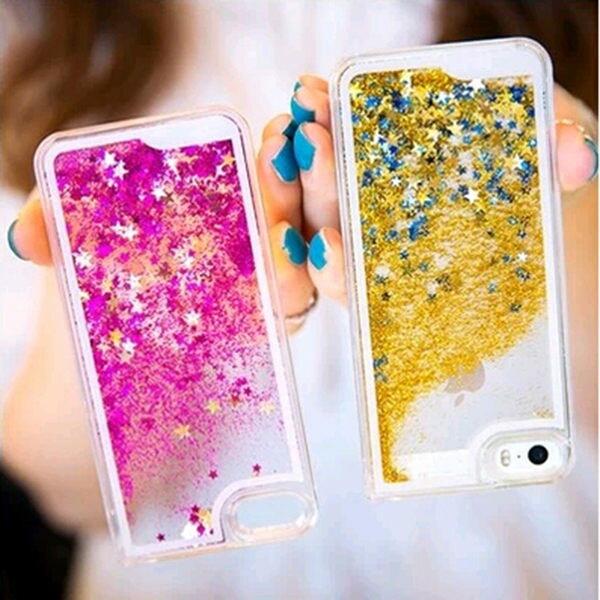 蘋果iPhone4  4S 保護套 SL003星星流沙手機殼 液體流沙手機外殼 透明保護殼