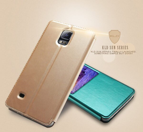 三星Galaxy Note 4 保護套 卡來登閃系列高檔PU閃皮料手機殼 Sumsung N9100 手機皮套保護殼【預購】