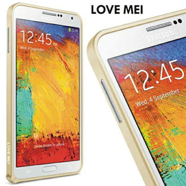☆三星Note 4 LOVE MEI 金屬免螺絲海馬扣邊框 N9100 手機殼【清倉】