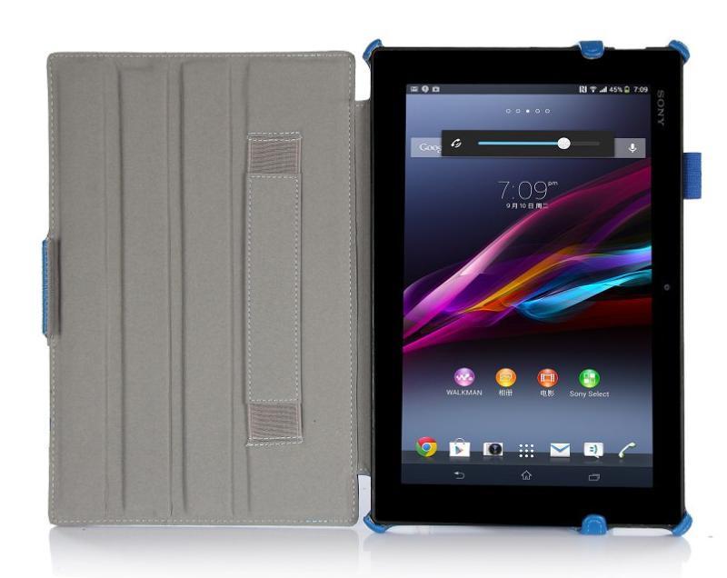 【清倉預購】SONY Tablet Z2 文逸熱定型折平板皮套 索尼SGP541/511/512CN支架保護殼保護套