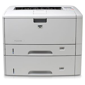 HP LaserJet 5200DTN Laser Printer - Monochrome - 1200 x 1200 dpi Print - Plain Paper Print - Desktop - 35 ppm Mono Print - Executive, Legal, Letter, Letter-R, Statement, Monarch Envelope, DL Envelope, Envelope No. 10, ... - 600 sheets Standard Input Capac 1