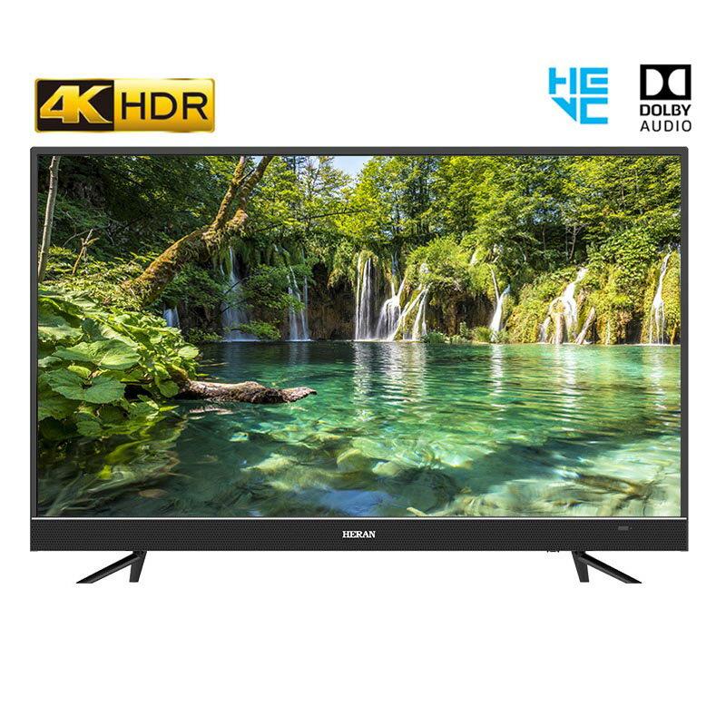 【HERAN禾聯】HS-65JAHDR 65吋 4K UHD液晶顯示器+視訊盒 4K液晶電視