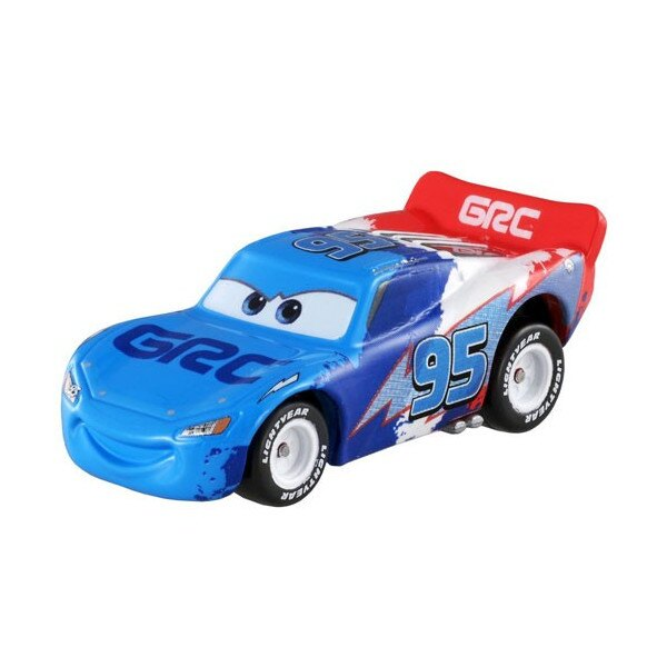 【真愛日本】15100700003 TOMY車-閃電麥坤藍色 多美小汽車 收藏 汽車總動員 皮克斯 TOMICA