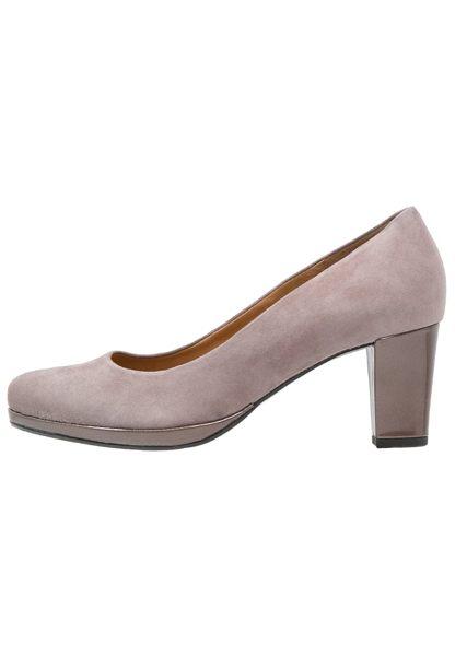 Gabor 麂皮素面優雅跟鞋 7