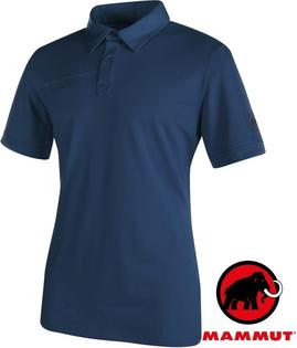 零碼特價Mammut長毛象排汗Polo衫休閒衫TrovatPolo男款1041-061625118海洋藍
