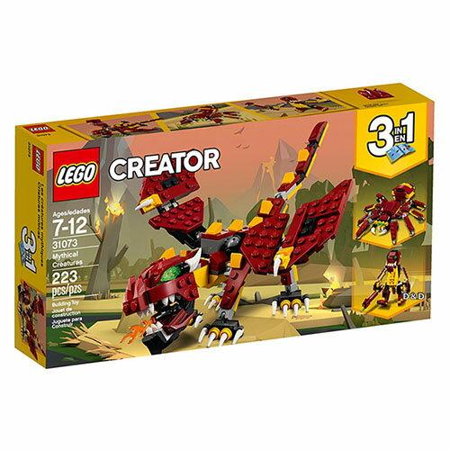 樂高積木LEGO《LT31073》2018年Creator創意百變系列-神祕生物