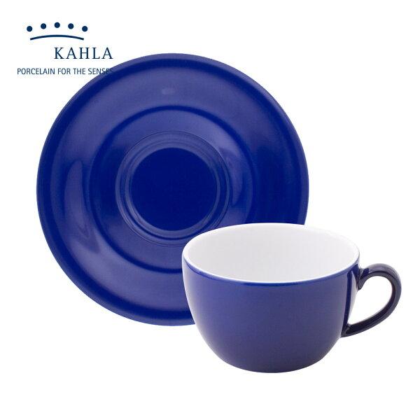 德國KAHLA藍調之美(夜藍NightBlue)-250ML杯盤組
