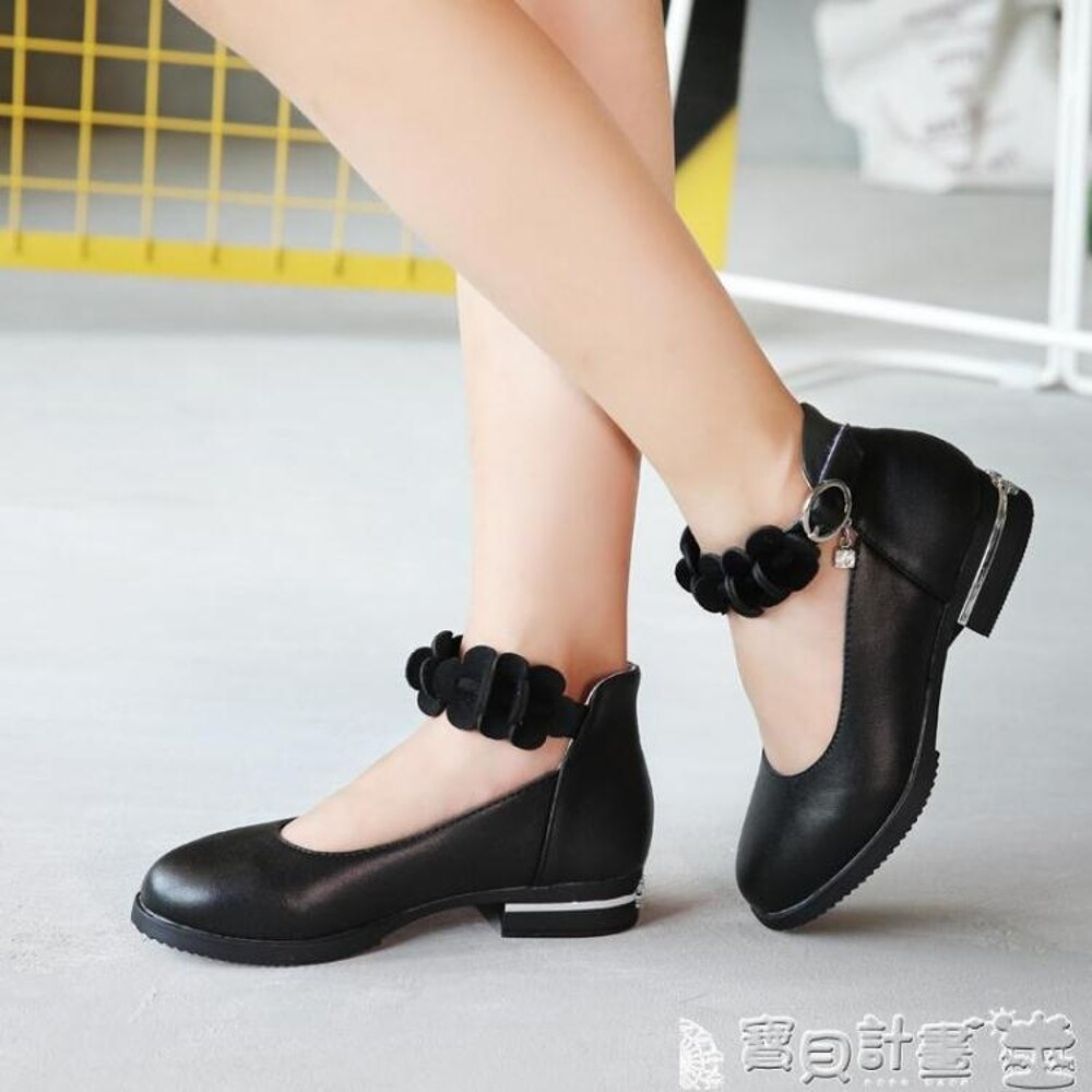 女童高跟鞋 女童皮鞋公主鞋兒童鞋子單鞋小學生高跟鞋 寶貝計畫 2