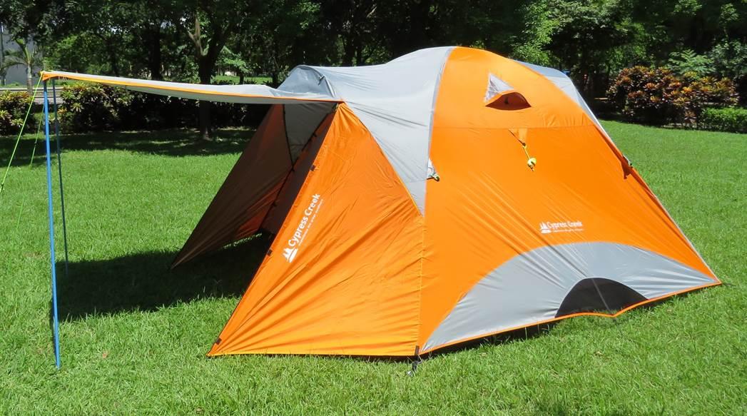 【野道家】賽普勒斯馬卡龍家庭帳系列CC-T300F(橘色) 最新款帳篷300*300 NT$8,800