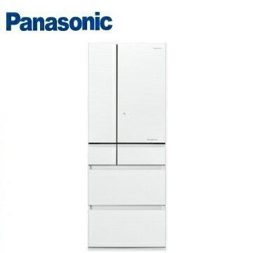 Panasonic國際牌NR-F603HX六門變頻玻璃冰箱(600L)(翡翠白)※熱線:07-7428010