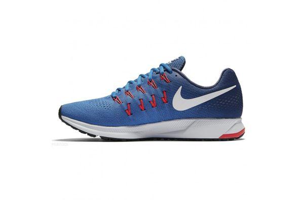Nike AIR ZOOM PEGASUS 33 男鞋 慢跑鞋 藍 橘 【運動世界】 831352-403