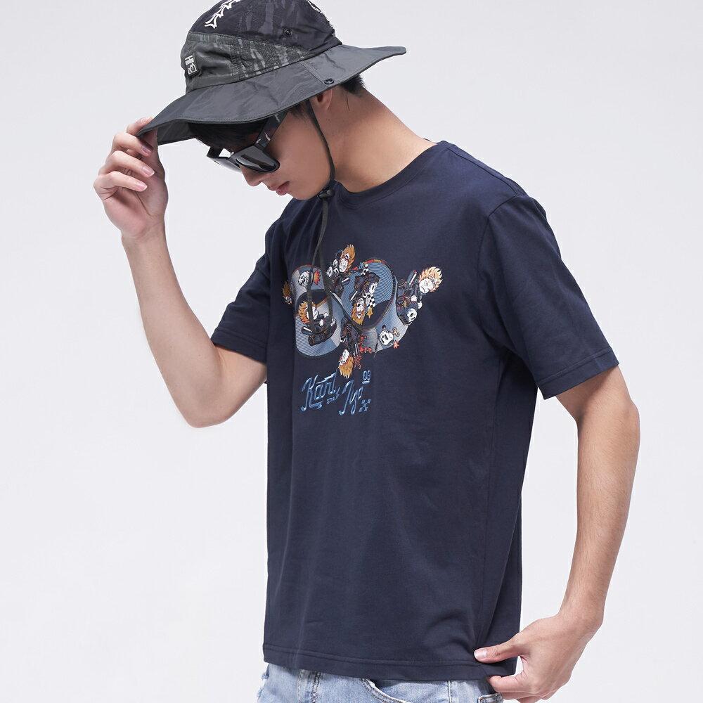 BLUE WAY   地藏小王 無限賽車短TEE 0