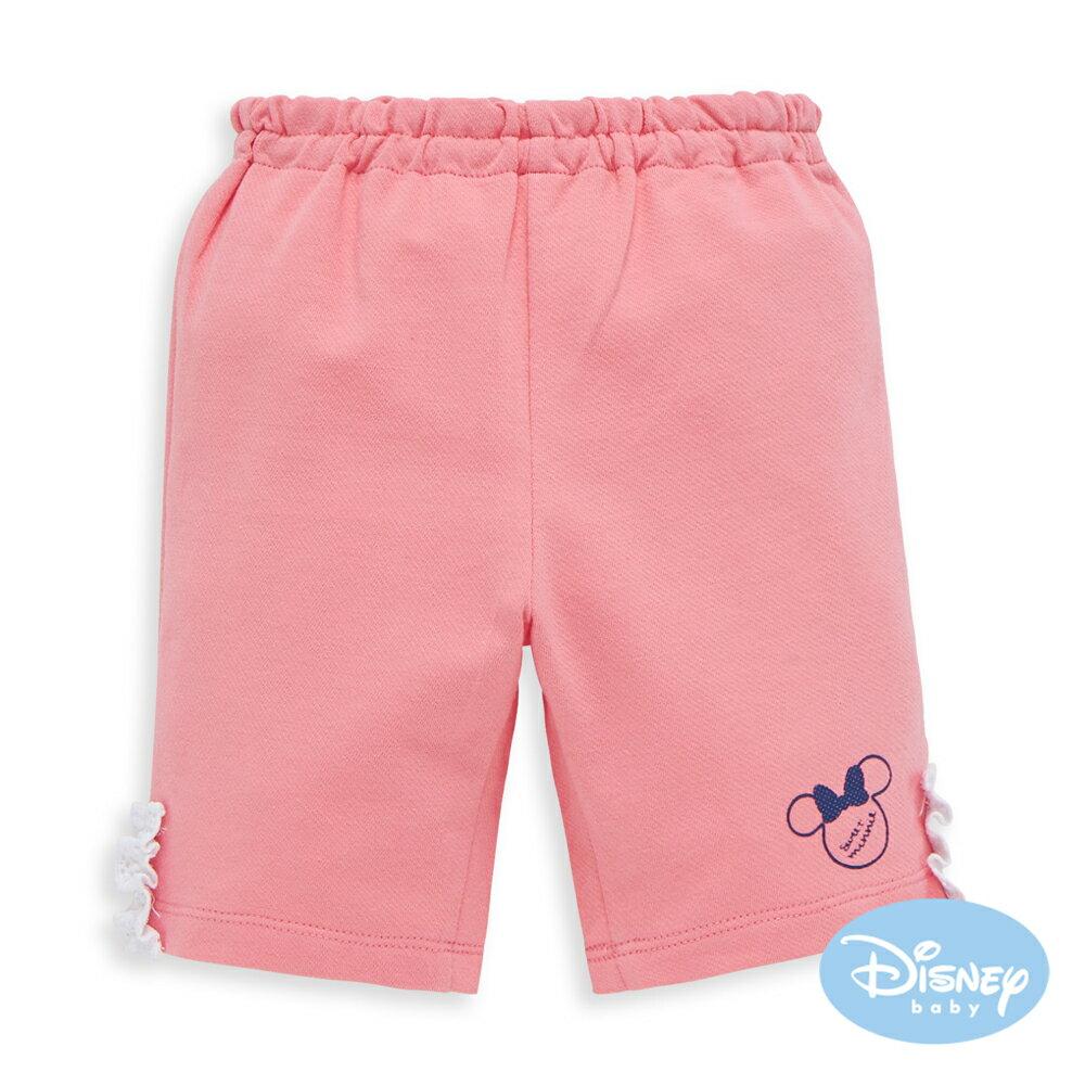 Disney baby 甜柔蕾絲米妮短褲-粉紅色