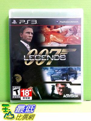 [玉山最低比價網] 全新沒拆 PS3 詹姆士龐德 007 傳奇 007 Legends (英文版)