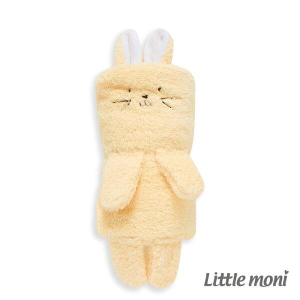 LittleMoni兔兔毛毯-黃