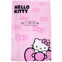 凱蒂貓週邊商品推薦到〔小禮堂〕Hello Kitty 長門簾《粉紅.蝴蝶結》85x145cm