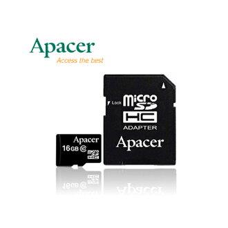Apacer 16GB MicroSDHC Class4 記憶卡【葳豐數位商城】