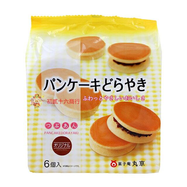 【0216零食會社】丸京銅鑼燒-原味&紅豆324g