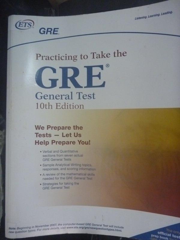 【書寶二手書T6/語言學習_ZBN】GRE Practicing to Take the General Test10/