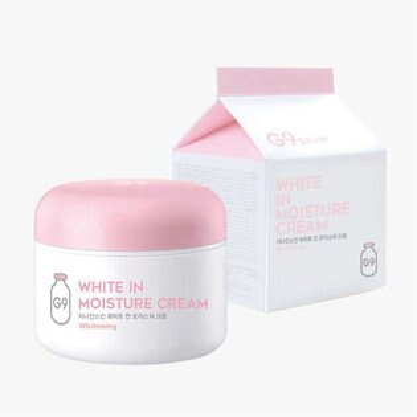 韓國G9SKIN牛奶保濕提亮素顏霜100g【櫻桃飾品】【26574】
