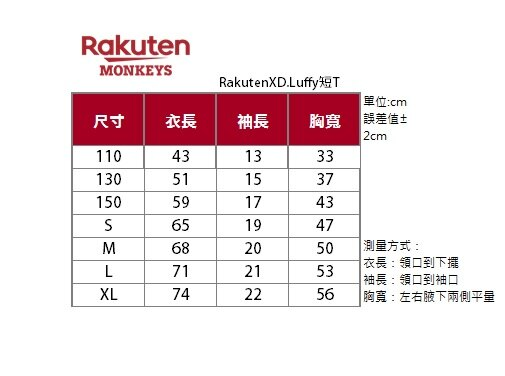 【預購】ONE PIECE航海王短T(10 / 25起陸續出貨) 2