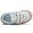 Shoestw【IV574NSE】NEW BALANCE NB574 運動鞋 黏帶 小童鞋 Wide 白粉天藍 2