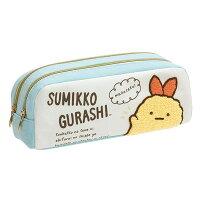角落生物Sumikko-gurashi,角落生物鉛筆盒/筆帶推薦到角落生物 雙層 鉛筆盒 鉛筆袋 收納袋 刺繡 Sumikko Gurash 日本正版 該該貝比日本精品 ☆