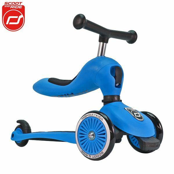 【領券再折】奧地利【Scoot&RideCool】飛滑步車滑板車(藍)
