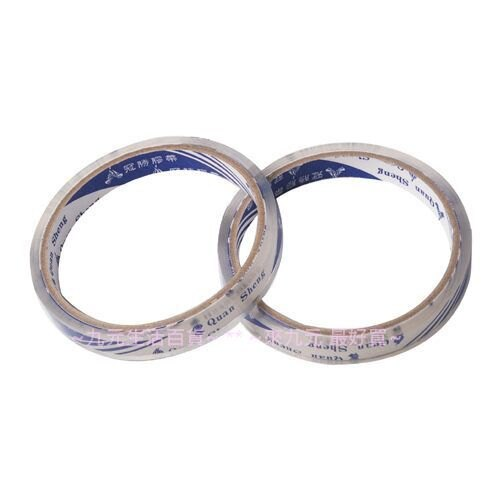 【九元生活百貨】2入OPP文具膠帶/12mm 透明膠帶