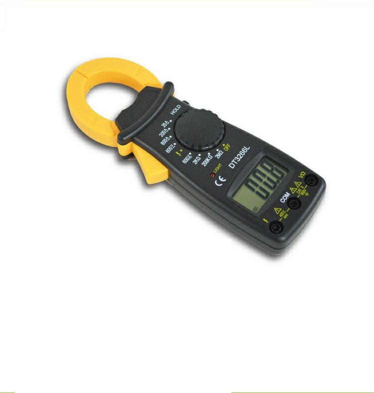 迷你數字電錶 過載保護 測火線 電流勾錶 鉗形電表 電流勾表 勾錶 鉗表 燈具