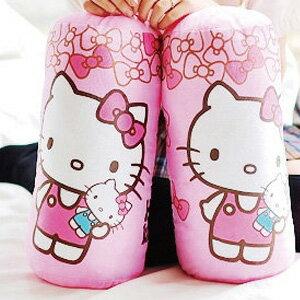 美麗大街【103091805-25】HELLO KITTY甜蜜粉色蝴蝶結小布偶圓筒抱枕25吋