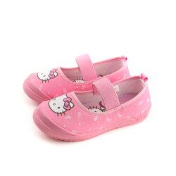 Hello Kitty 凱蒂貓 娃娃鞋 布鞋 童鞋 粉紅色 中童 718621 no769