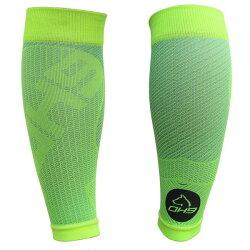 台灣品牌 OH9 慢跑系列---涼感壓力小腿套-綠色